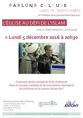 L'ÉGLISE AU DÉFI DE L'ISLAM
